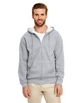 Adult Heavy Blend™ Adult 8 oz., 50/50 Full-Zip Hood