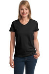 Ladies ComfortSoft® V Neck T Shirt