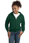 Hanes Youth ComfortBlend ® Full Zip Hooded Sweatshirt
