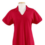 Jerzees Ladies' 5.6 oz., 50/50 Jersey Polo with SpotShield™