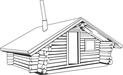 REB02 LOG CABIN