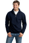 Jerzees Super Sweats ® 1/4 Zip Sweatshirt with Cadet Collar
