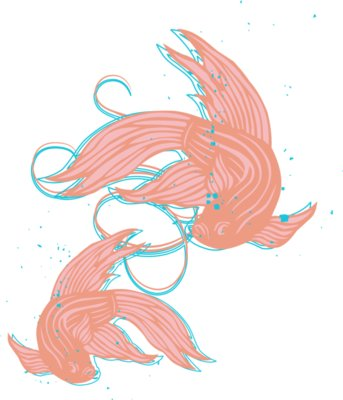FLOURISH 15 FISH IN MEMORY OF