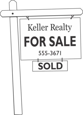 REB10 REAL ESTATE SIGN